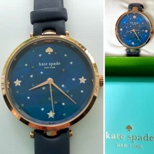 NEW🌸Kate Spade 34mm Mother of Pearl Leather watch